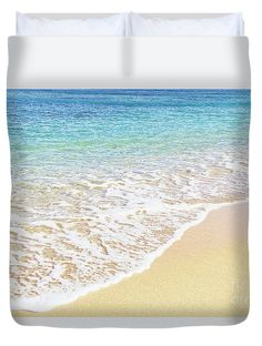 White Duvet Bedding, Beach Bedrooms, Happy Mom, Light Covers, Queen Duvet, Basic Colors, Color Show, Fine Art America, Colorful Backgrounds