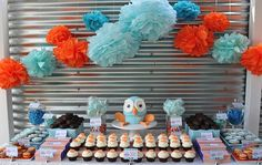 Mummy's Little Dreams: Hoot the Owl Birthday Theme Owl Birthday Parties, Boy Birthday, Birthday Ideas, Owl Parties, Birthday Stuff, Party Planning, First Birthdays, Party Time, Exciting News