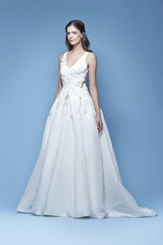 Carolina Herrera Bridal Spring 2016 'Joelle' bridal gown