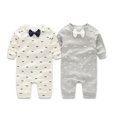 Mamelucos del bebé del Otoño de Los Bebés Que Arropan Caballero Primavera Recién Nacido Ropa de Bebé de Manga Larga Ropa Del Bebé Monos Infantiles