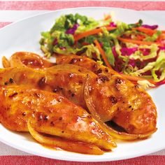 This chicken dish with smoky BBQ flavor can be prepared in 20 minutes. It's perfect for those busy weeknights.