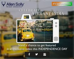 Show your love this #IndependenceDay. Feature your pictures in our #VibrantIndia #contest!