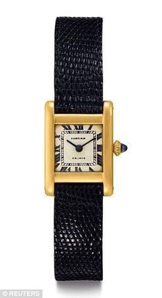 According to an engraving on the back, Radziwill gave Jackie the watch to commemorate a 50-mile hike he completed in 1963 - just months before President Kennedy's assassination