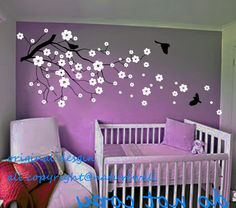cherry blossom decals wall decor - Google Search