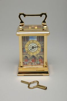Disney HUNCHBACK OF NOTRE DAME Halcyon Days Enamels 8 Day Carriage Clock Disney Clocks, Carriage Clocks, Halcyon Days, Enamels, Disney Movies, Notre Dame, Boxes, Past Tense, Disney Films