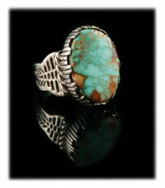 Large Water Web Royston Turquoise Ring by John Hartman Turquoise Rings, Turquoise Pendant, Turquoise Jewelry, Turquoise Bracelet, Jewelry Ideas, Jewelry Box, Silver Earrings, Silver Jewelry, Mens Gemstone Rings