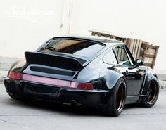 The Porsche 911 is a truly a race car you can drive on the street. It's distinctive Porsche styling is backed up by incredible race car performance. Ferdinand Porsche, Black Porsche, Porsche 911 964, Porsche Carrera, Porsche Sports Car, Porsche Cars, Porsche Classic, Bugatti, Lamborghini