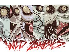 """Check out my @Behance project: """"Animals Zombies Character"""" https://www.behance.net/gallery/27187991/Animals-Zombies-Character"""