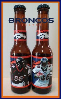 Denver Broncos Von Miller & Demaryius Thomas ( 2 pack - 7oz beer bottles )   in Sports Mem, Cards & Fan Shop, Fan Apparel & Souvenirs, Football-NFL | eBay