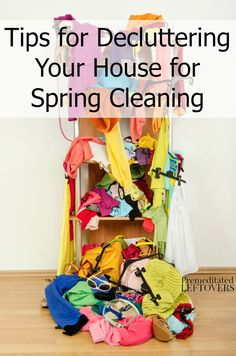 Spring is the perfect time to deep clean, organize, and declutter your home. Here is a checklist and Tips for Decluttering Your House for Spring Cleaning.