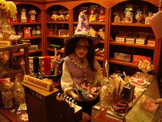 Miniature Candy Witch