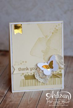 Stampin Up Artisan Wednesday Wow | Creations by Mercedes Weber
