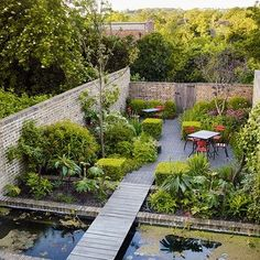 How does your garden grow? With city gardens, the answer is with ingenuity. See the best small space garden ideas on HOUSE by House & Garden #courtyard