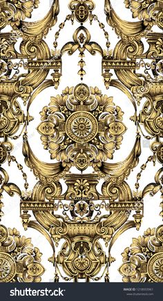 lassical luxury old fashioned damask ornament, royal victorian seamless texture for wallpapers, textile, wrapping. Royal Pattern, Baroque Pattern, Pattern Art, Versace Wallpaper, Baroque Art, Seamless Textures, Abstract Images, Textile Prints, Pattern Wallpaper