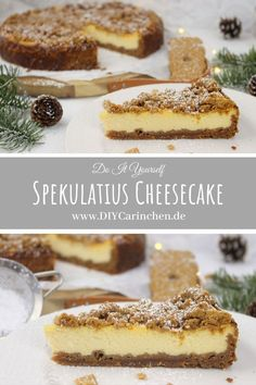 Recipe - juicy and delicious speculoos cheesecake with biscuit base - Recipe – juicy and delicious Spekulatius Cheesecake with biscuit base: DIY, DIY, Cheescake, New Y - Cake Mix Cookie Recipes, Chocolate Cookie Recipes, Cake Mix Cookies, Dessert Recipes, Perfect Cheesecake Recipe, Easy No Bake Cheesecake, Homemade Cheesecake, Classic Cheesecake, Biscuit Base Recipe