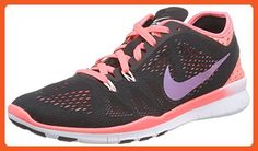 Nike Women's Free 5.0 Tr Fit 5 Brthe Black/Hot Lava/Lava Glow/White Training Shoe 6.5 Women US - Athletic shoes for women (*Amazon Partner-Link)