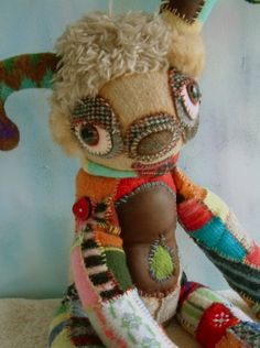 """Amazing creature creation by Etsy Artist:  cocoondesigns  """"Using anything again."""""""