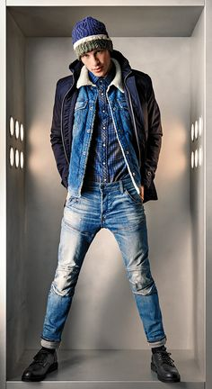 85a94d69b68 The G-Star Elwood jeans mapped out a new way of thinking about denim when