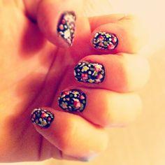 Blommiga naglar  #Padgram
