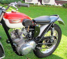 1966 Triumph Tiger Trial bike