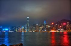Photo taken on the 26th of Feb 2012 from the West Kowloon Waterfront Promenade