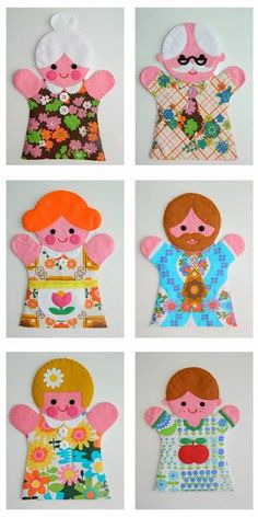 Make your own puppet family! | Handmade by alice apple | Bloglovin'