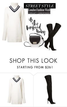 """Untitled #890"" by sarabutterfly ❤ liked on Polyvore featuring CITYSHOP, Gianvito Rossi and Joanna Maxham"