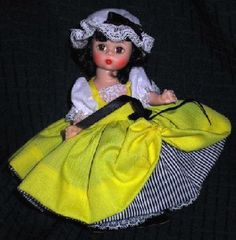 "I have this old doll ""Miss France"" from madame Alexander"