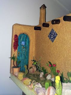 mexican dollhouse miniature   Limor Moyal