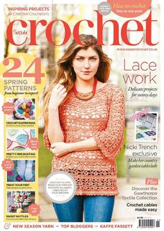 Inside Crochet Magazine Issue 51 2014 - 轻描淡写 - 轻描淡写