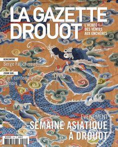 Gazette Drouot n°42 du 4/12/2015. #AsianArt #Dragon #tapisserie #ArtMarket #Webzine