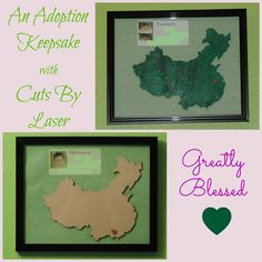 Greatly Blessed: An Adoption Keepsake with Cuts By Laser