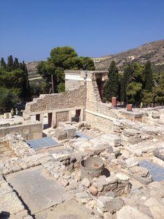 Κνωσός (Knossos) in Ηράκλειο, Ηράκλειο: Knossos palace on Crete