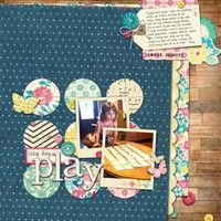 Lazy Play Day by snappystamper from our Scrapbooking Gallery originally submitted 09/03/13 at 11:26 AM