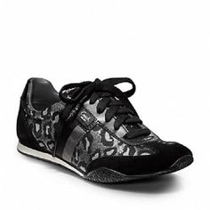 New Coach Kinsley Ocelot Print Sneakers-Size 5. Starting at $25 on Tophatter.com!