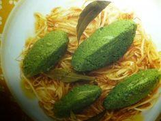 gnudi ricetta - con patate e germogli di soia