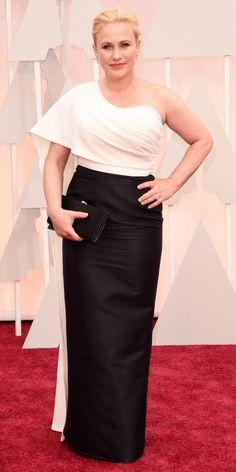 87th Annual Academy Awards - Arrivals PATRICIA ARQUETTE  Patricia Arquette in Rosetta Getty.