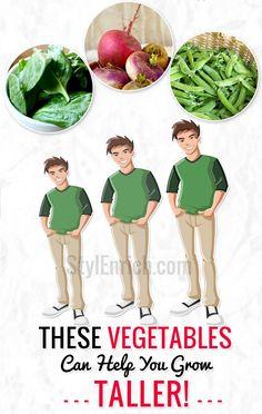 How to Grow Taller : Vegetables Can Help You Grow Taller
