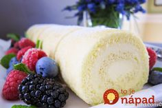 Mother's Day Menu: Lemon Chiffon Roulade One of my favorite tasks when I was a… Lemon Curd Cake, Half Sheet Pan, Berry Compote, Sheet Cake Recipes, Lemon Desserts, Pastry Chef, Amazing Cakes, Baking, Chiffon