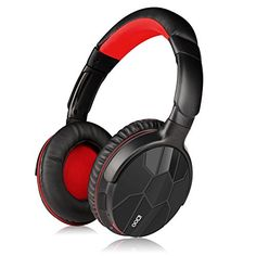 Special Offers - iDOO Bluetooth Over-ear Headphones NFC Wired  Wireless Stereo Bluetooth 4.0 Headphones with Built-in Microphone Black & Red - In stock & Free Shipping. You can save more money! Check It (June 08 2016 at 06:26PM) >> http://ift.tt/1UzDlTW