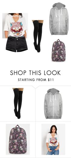"""""""Party with best friends"""" by killerkatherine on Polyvore featuring WearAll, Loungefly, H&M and plus size clothing"""