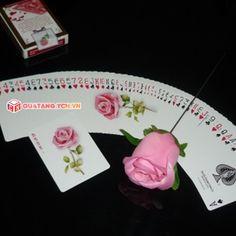 Kiss from the rose magic ảo thuật bài hoa hồng lãng mạn