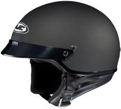 HJC Helmets CS-2N Helmet (Flat Black, Medium)