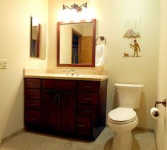 Bathroom 1: After