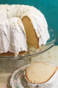 Brown Sugar Pound Cake from Marty's Musings