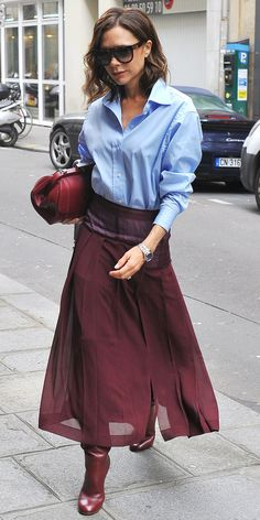From the street to the red carpet, see Victoria Beckham's most stylish looks ever.