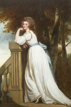 The Lady Rouse Boughton by Romney 1785-87