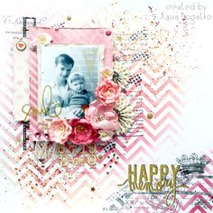 Happy Memory - layout for scrapki.pl