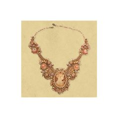 Michal Negrin ~ Jewelry Lace Necklaces ($1,204) ❤ liked on Polyvore