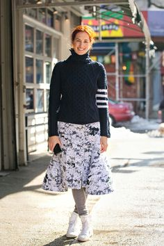 Style Tip Of The Day: Long Johns Are Now High Fashion #refinery29